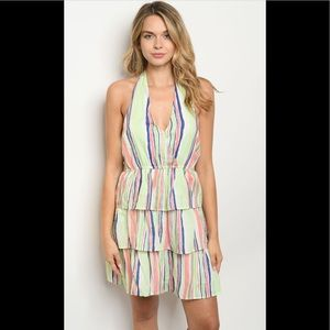 2 for $40❤️layered pastel dress